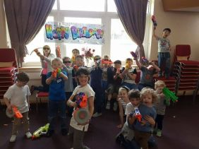 Nerf Parties Leeds at Bradford Nerf Party West Yorkshire Kids Party