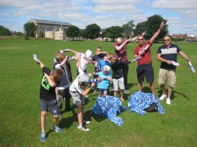 Nerf Parties Leeds at Nerf War at Drighlington, Bradford Nerf War in West Yorkshire