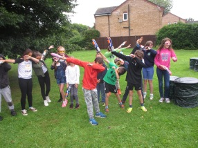 Nerf Parties Leeds at Nerf War at Easingwold Nerf Party York Nerf War in North Yorkshire 1