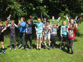 Nerf Parties Leeds at Nerf War at Kirkstall, West Yorkshire Wakefield Nerf War in Leeds 4