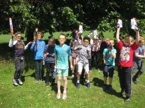 Nerf Parties Leeds at Nerf War at Kirkstall, West Yorkshire Wakefield Nerf War in Leeds 5