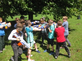 Nerf Parties Leeds at Nerf War at Kirkstall, West Yorkshire Wakefield Nerf War in Leeds 7
