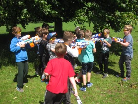 Nerf Parties Leeds at Nerf War at Kirkstall, West Yorkshire Wakefield Nerf War in Leeds 8