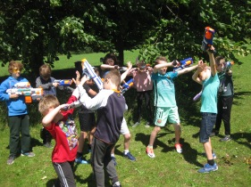 Nerf Parties Leeds at Nerf War at Kirkstall, West Yorkshire Wakefield Nerf War in Leeds 9