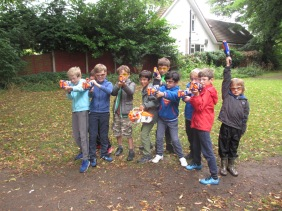 Nerf Parties Leeds at Nerf War at Roundhay Nerf Party Leeds Nerf War in West Yorkshire