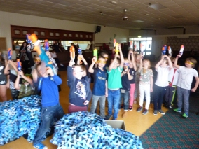 Nerf Parties Leeds Barnsley Nerf War South Yorkshire Barnsley Nerf Party Ideas for Barnsley Nerf Kids Birthday Party Yorkshire 3