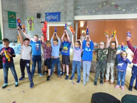 Yorkshire Nerf Parties Leeds Nerf War Keighley Nerf Party Ideas for Bingley Nerf Kids Birthday Party Bingley Nerf Games Leeds