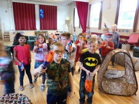 Yorkshire Nerf Parties Leeds Nerf War Rothwell Nerf Party Ideas for Leeds Nerf Kids Birthday Party Leeds Nerf Games West Yorkshire 1