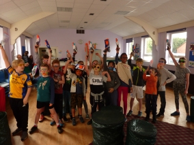 Yorkshire Nerf Parties Leeds Nerf War Roundhay Nerf Party Ideas for Roundhay Nerf Kids Birthday Party Yorkshire Nerf Games 8