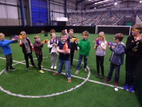 Knottingley Nerf Parties Leeds Nerf War Castleford Nerf Party Ideas for Nerf Kids Birthday Party & Adult Nerf Party Rival War at Yorkshire Nerf Party A1 Football Factory (4)
