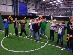 Knottingley Nerf Parties Leeds Nerf War Castleford Nerf Party Ideas for Nerf Kids Birthday Party & Adult Nerf Party Rival War at Yorkshire Nerf Party A1 Football Factory (5)