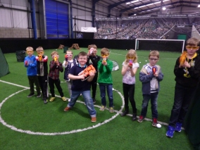 Knottingley Nerf Parties Leeds Nerf War Castleford Nerf Party Ideas for Nerf Kids Birthday Party & Adult Nerf Party Rival War at Yorkshire Nerf Party A1 Football Factory