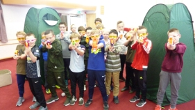 Pontefract Nerf Parties Leeds Nerf War Castleford: Nerf Party Ideas for Nerf Kids Birthday Party... Adult Nerf War Party at Yorkshire Nerf Party, Leeds.