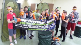 Nerf Parties Leeds Nerf War Games Nerf arena Pudsey Nerf Party in Leeds Team building Nerf Gun Games and Nerf gun wars Nerf gun party ideas for Nerf gun birthday party Yorkshire Nerf party theme Nerf party adult nerf guns rental