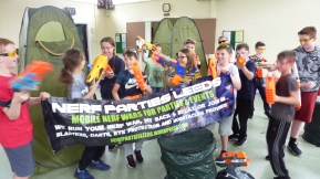 Nerf Parties Leeds Nerf War Games Nerf arena Pudsey Nerf Party in Leeds Team building Nerf Gun Games and Nerf gun wars Nerf gun party ideas for Nerf gun birthday party Yorkshire Nerf party theme Nerf party adult nerf guns rental (3)
