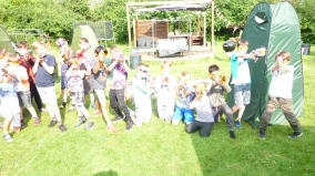 Nerf Parties Leeds Nerf War Games at Nerf arena Farsley (Nerf Party Pudsey Team building Nerf Gun Games and Nerf gun wars) outdoor Nerf gun party ideas for Leeds Nerf gun birthday party