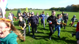 Nerf Party Outdoor Nerf War near Leeds by Nerf Parties Leeds. Yorkshire Nerf Party ideas and team building Nerf gun party ideas at Temple Newsome and Nerf gun games including Nerf Zombie